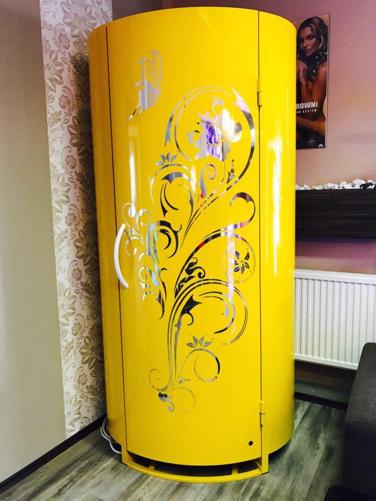 solar cabin sárga 1